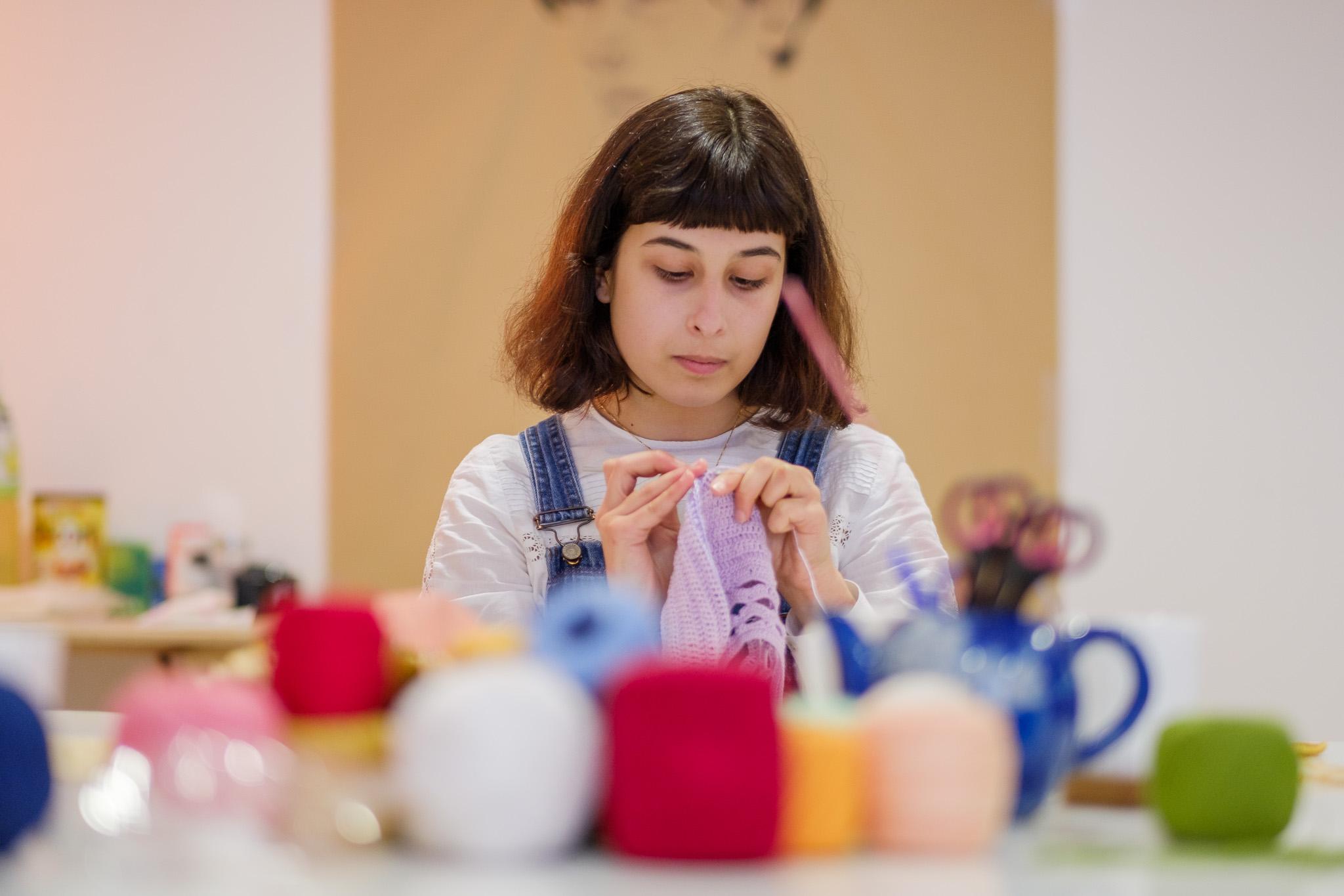 Oficina de Crochet