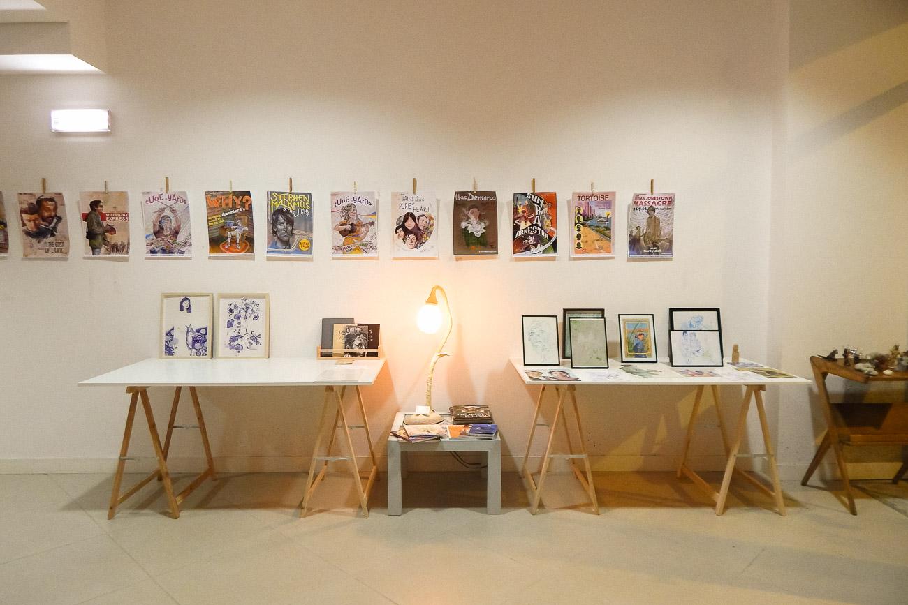Exposição Coletiva de Ilustração
