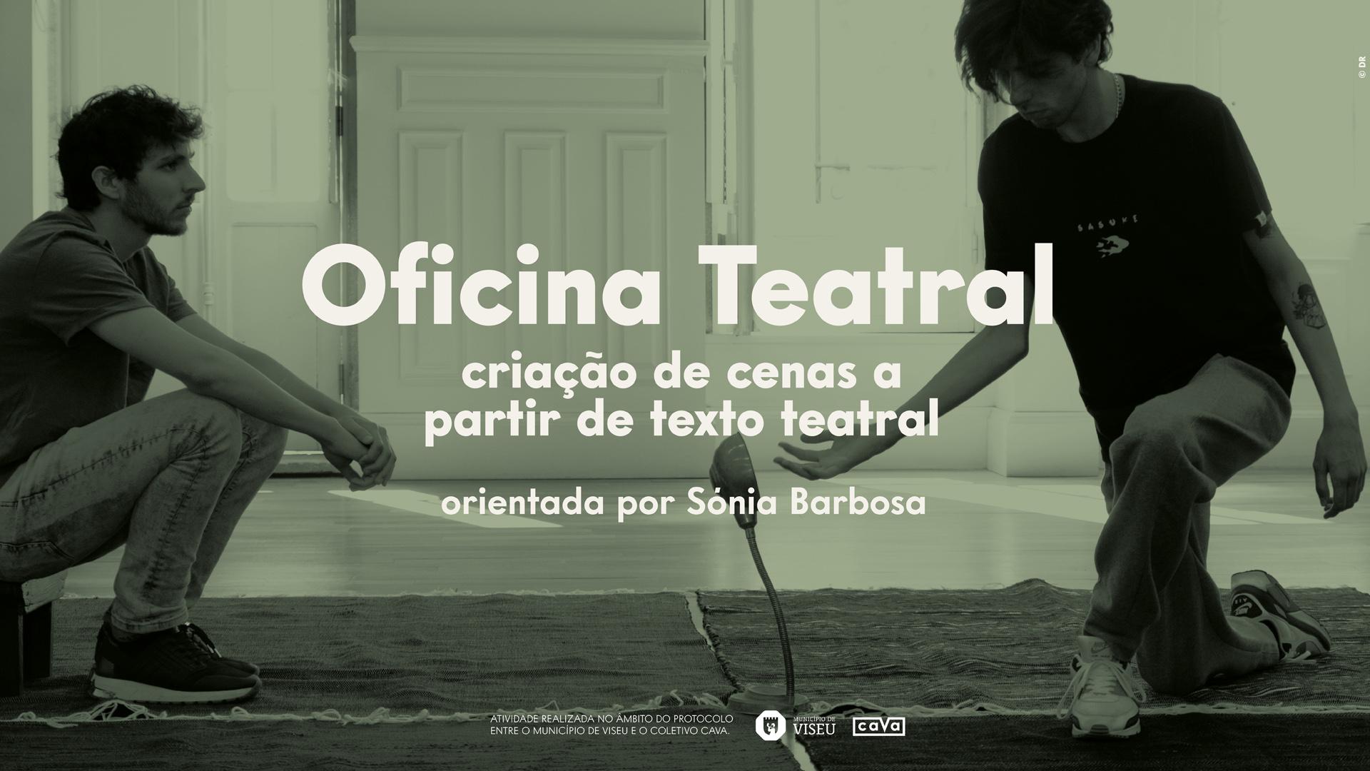 Oficinal Teatral – Criação de cenas a partir de texto teatral