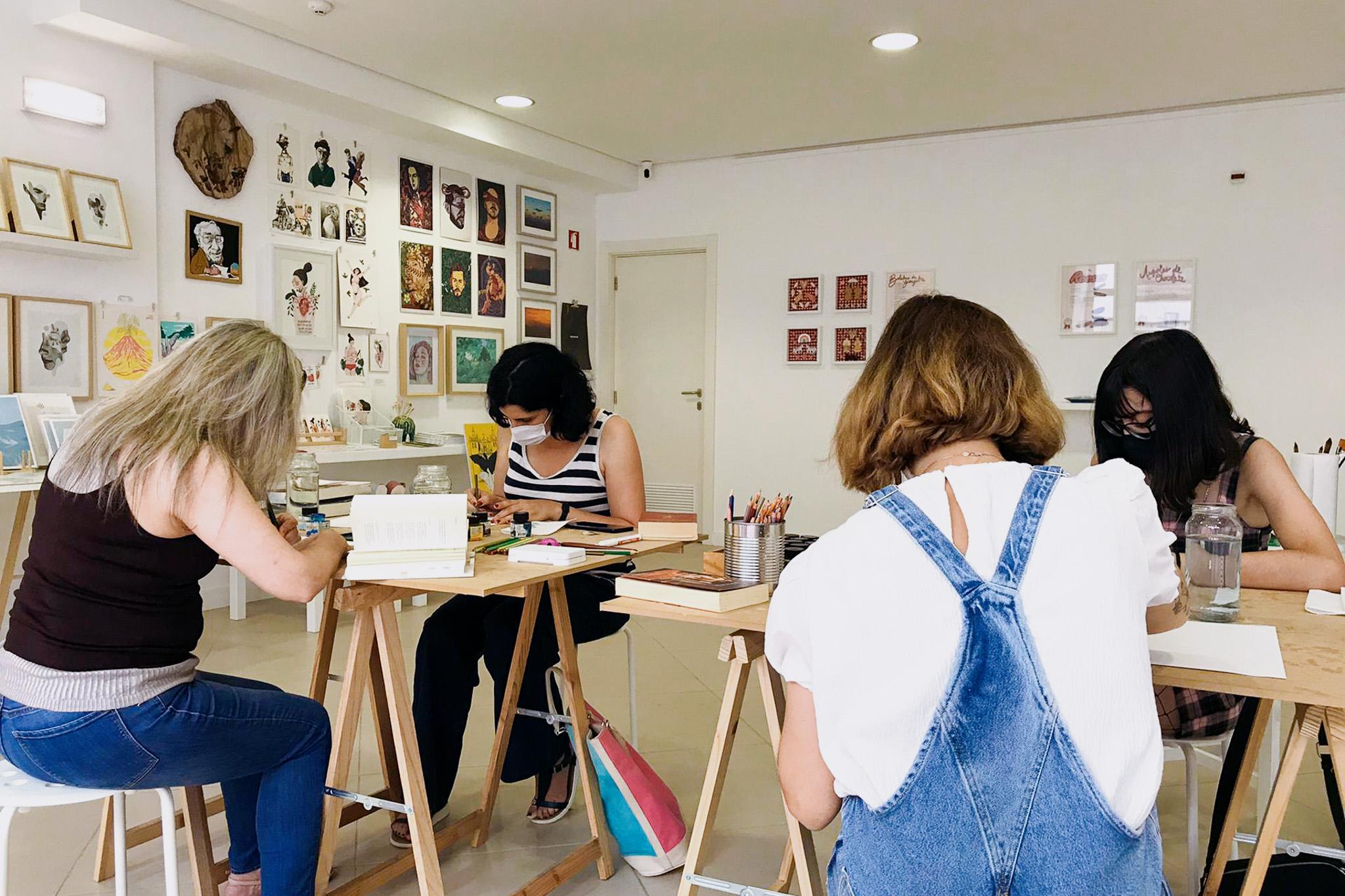 Oficina de Ilustração: Carta Ilustrada